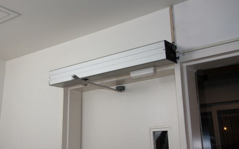 TTX Interior Automatic Door Operator Installed by Explore1.ca