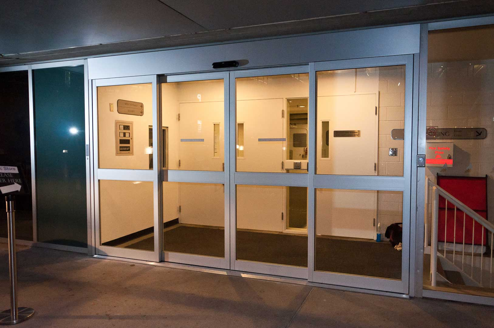 Tormax TX9300 Sliding Door System at Roy Thompson Hall Installed by Explore1.ca