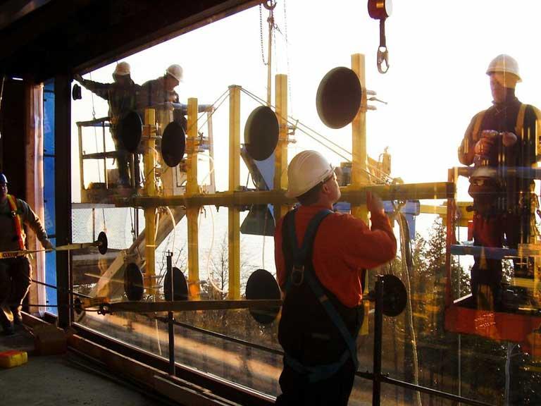 Massive IG Unit Installation in North America by Explore1.ca