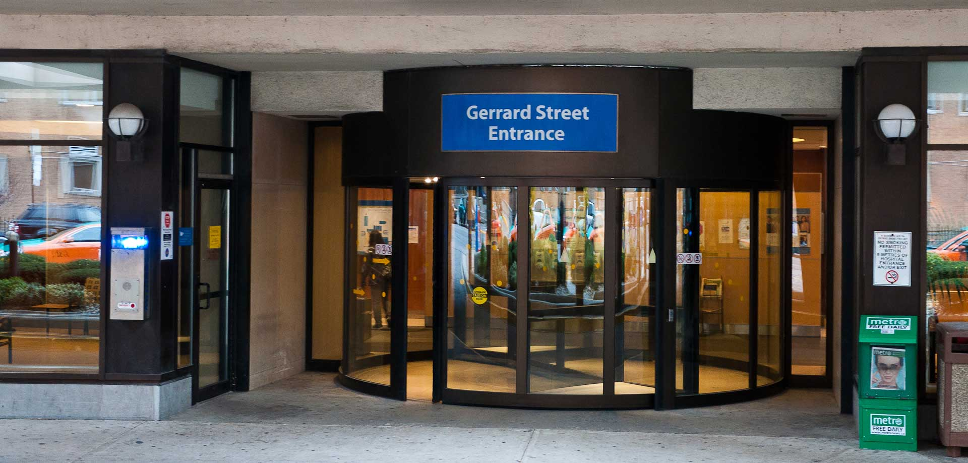 Gerrard Street Entrance Maintained by Explore1.ca