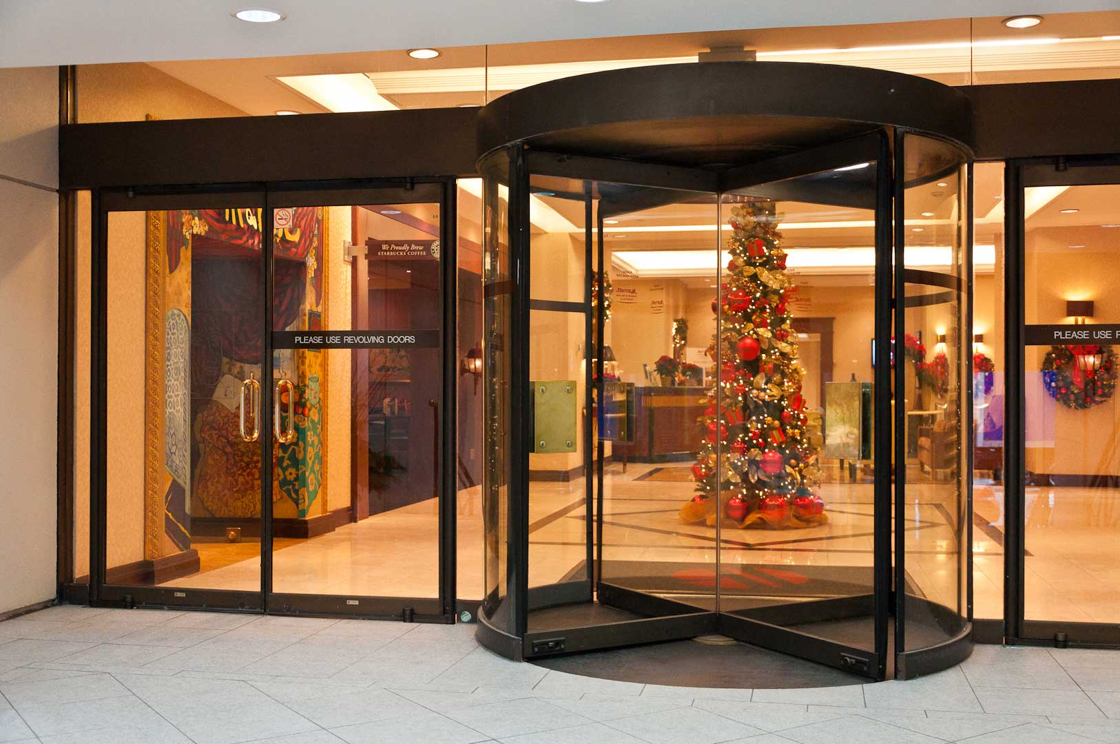Revolving Entrance Doors Maintained by Explore1.ca