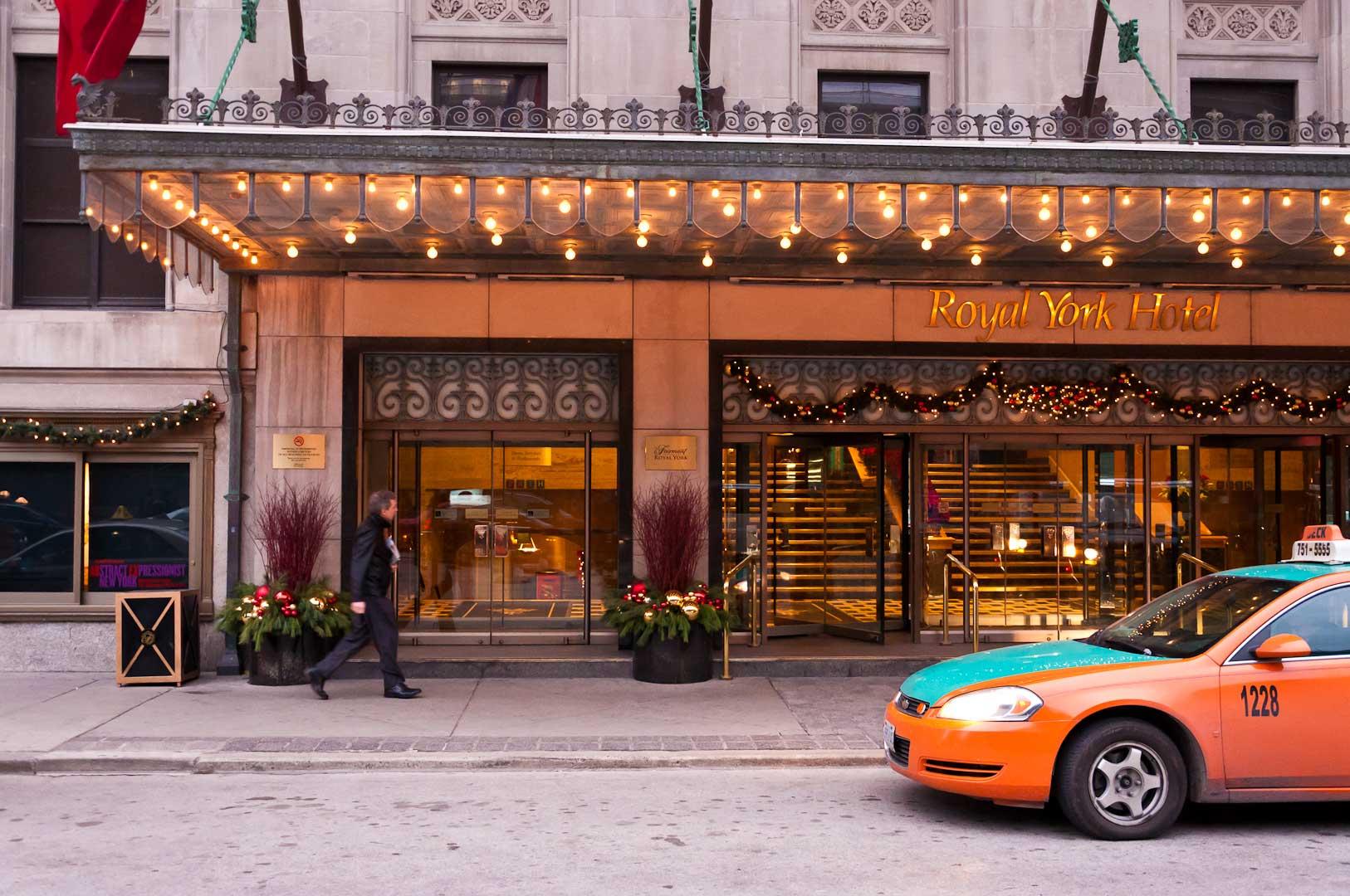 Royal York Hotel Lobby Door Maintenance by Explore1.ca