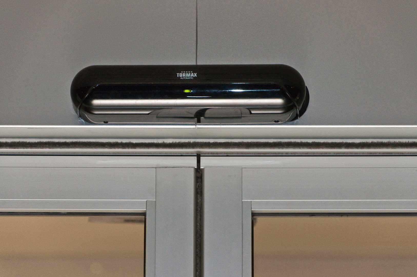 A Tormax Automatic Door Sensor Installed by Explore1.ca