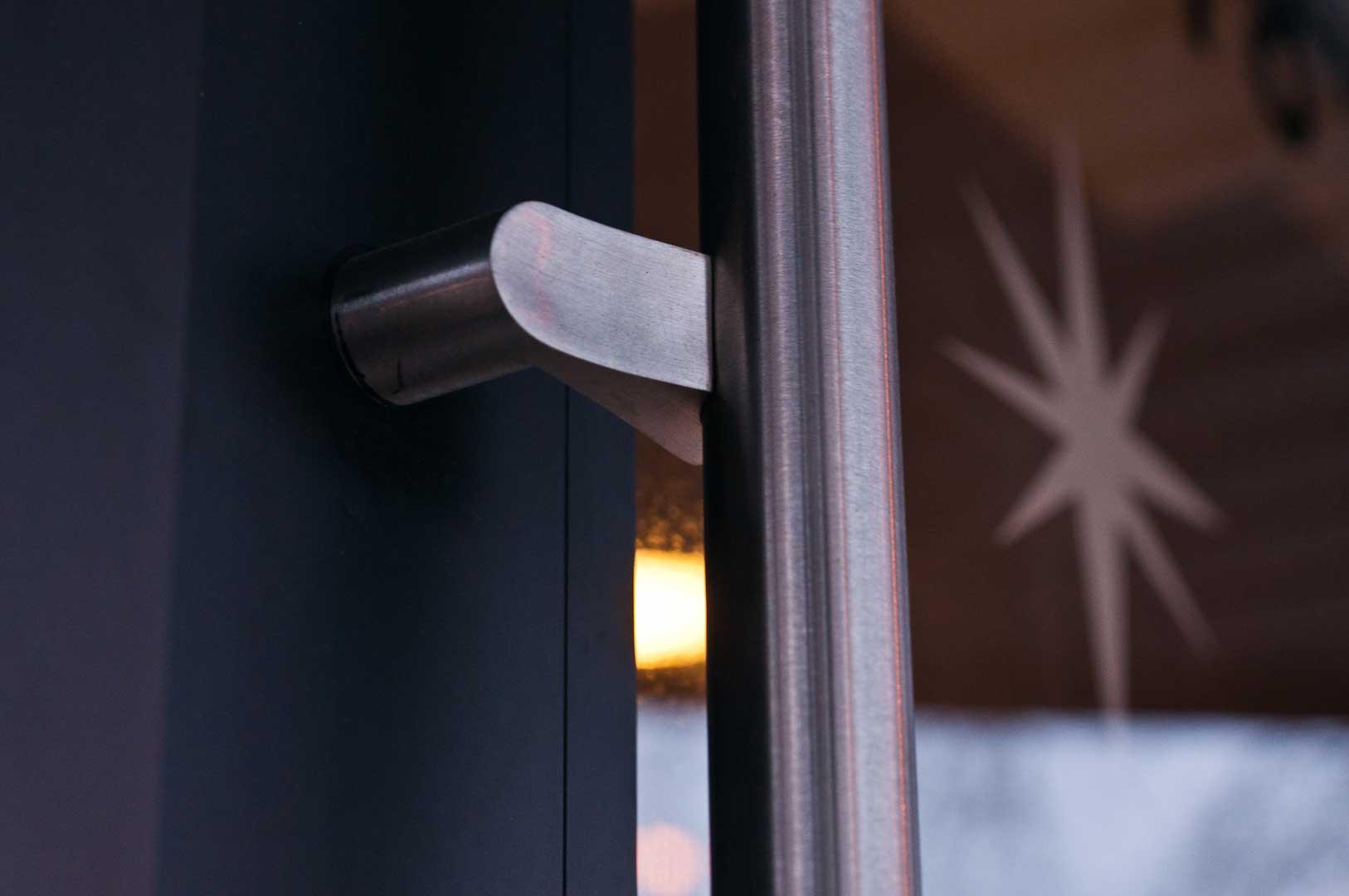 Queen Street Starbucks Door Hardware Installed by Explore1.ca